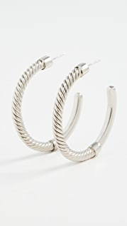 Soko Uzi Hoop Earrings