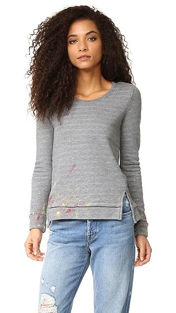 Sol Angeles Painted Sweatshirt
