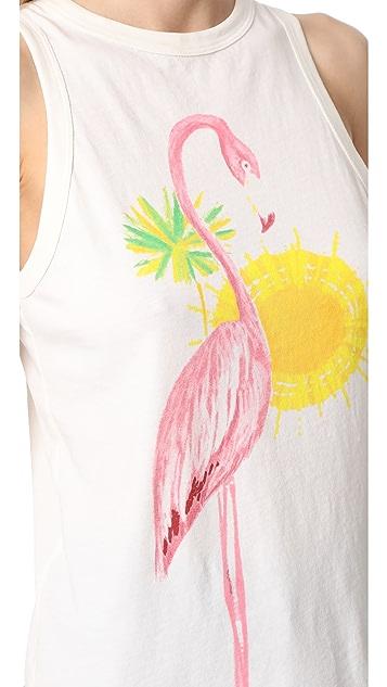 Sol Angeles Pink Flamingo Peek Tank