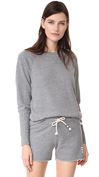 Sol Angeles Sol Essential Sweatshirt In Heather