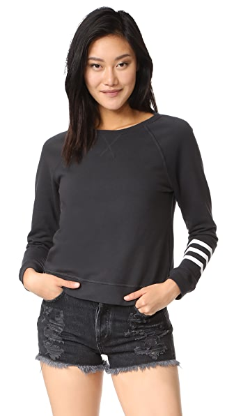 Sol Angeles Sol Essential Sweatshirt - Vintage Black