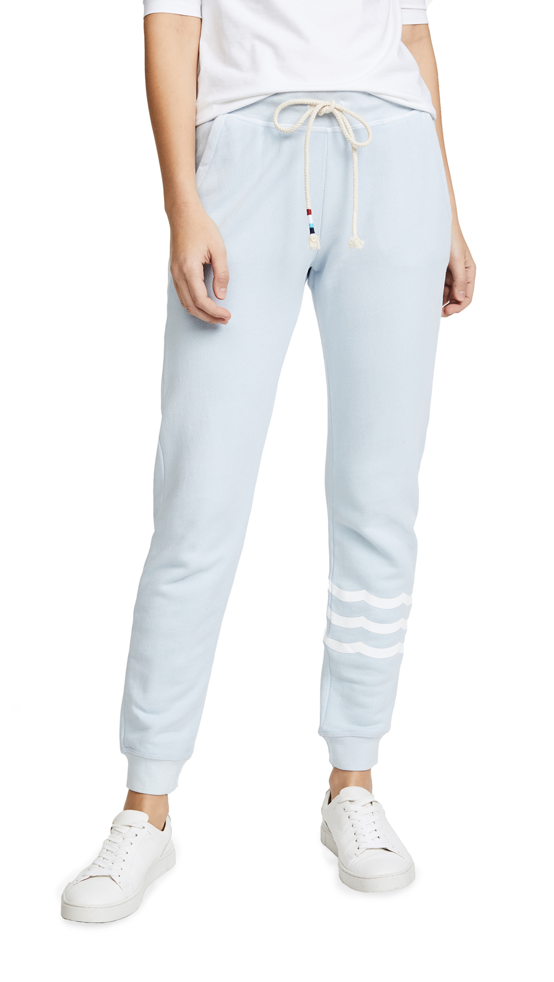 Sol Angeles Sol Essential Jogger Sweatpants In Mist