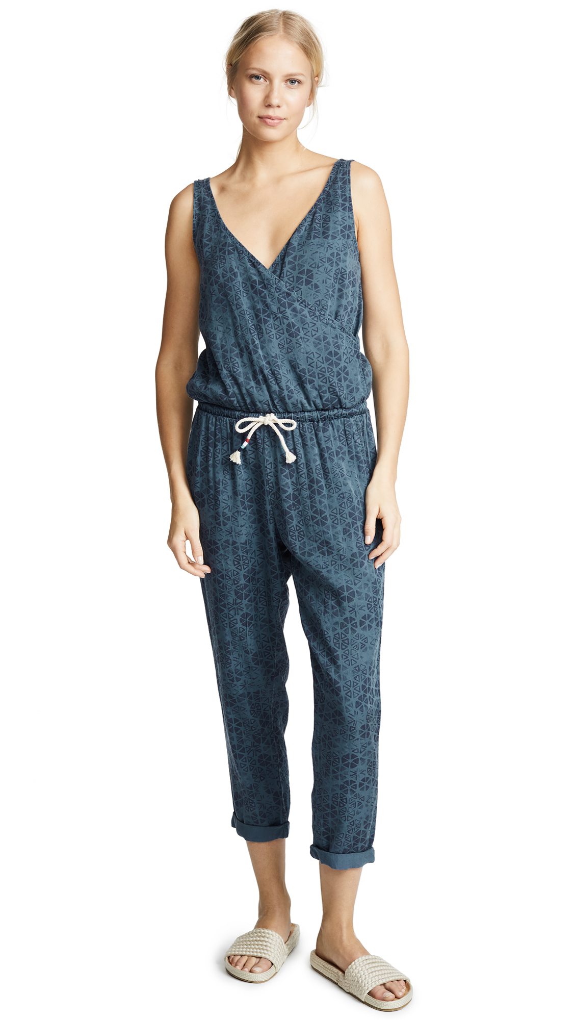 Sol Angeles Talavera Woven Jumpsuit In Talavera