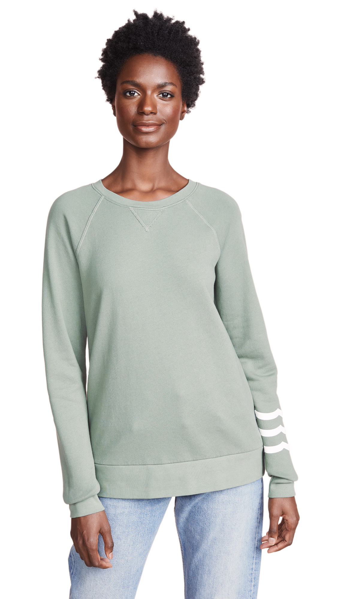 Sol Angeles Sol Essential Sweatshirt In Fatigue
