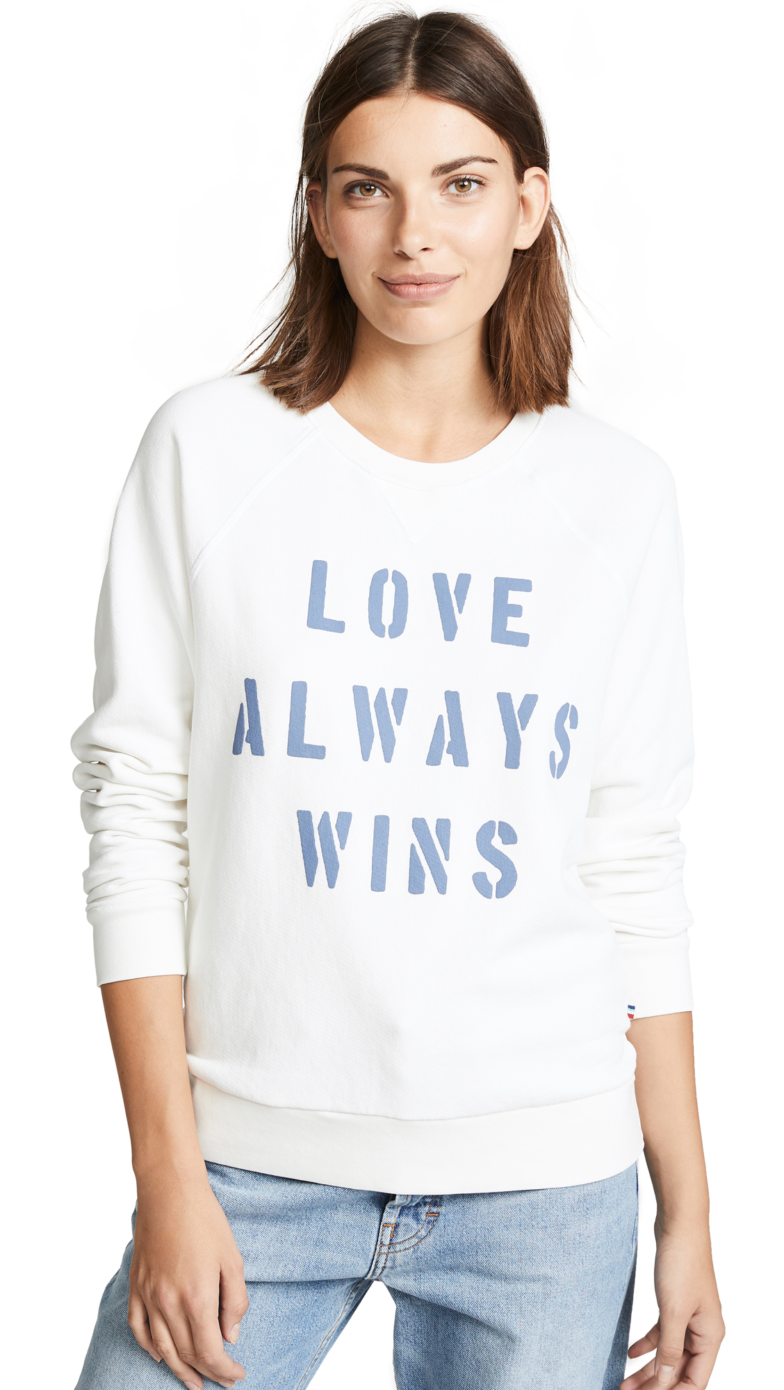 Sol Angeles Love Always Pullover In Deep White