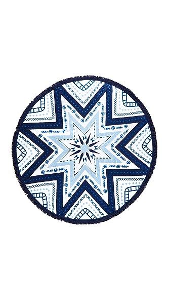 Soleil Miramar Printed Round Towel