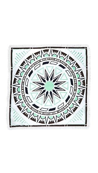 Soleil Luna Printed Square Towel