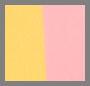 Coral Marigold Stripe