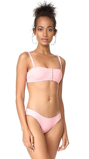 Solid & Striped x STAUD Alice Bikini Top