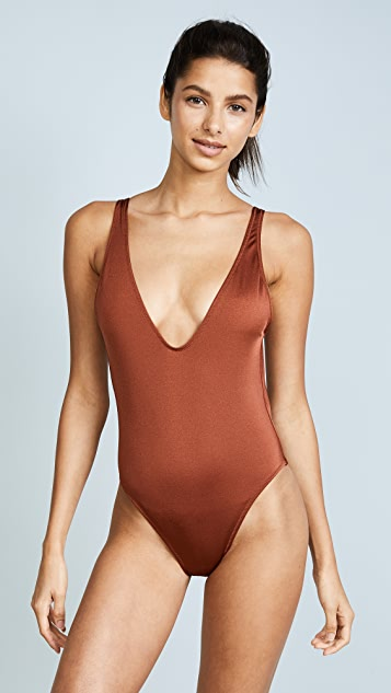 Solid & Striped The Michelle One Piece Swimsuit