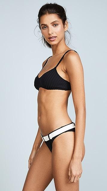 Solid & Striped The Rachel Rib Bikini Top