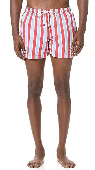 Solid & Striped The Classic Monaco Stripe Trunks