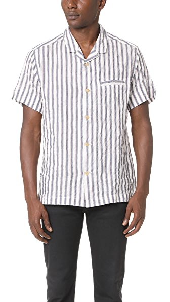 Solid & Striped The Ripley Short Sleeve Shirt