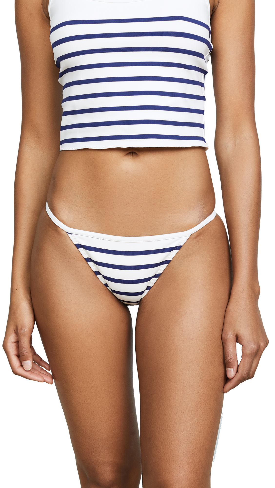 Solid & Striped The Nicole Bottoms In Navy Breton