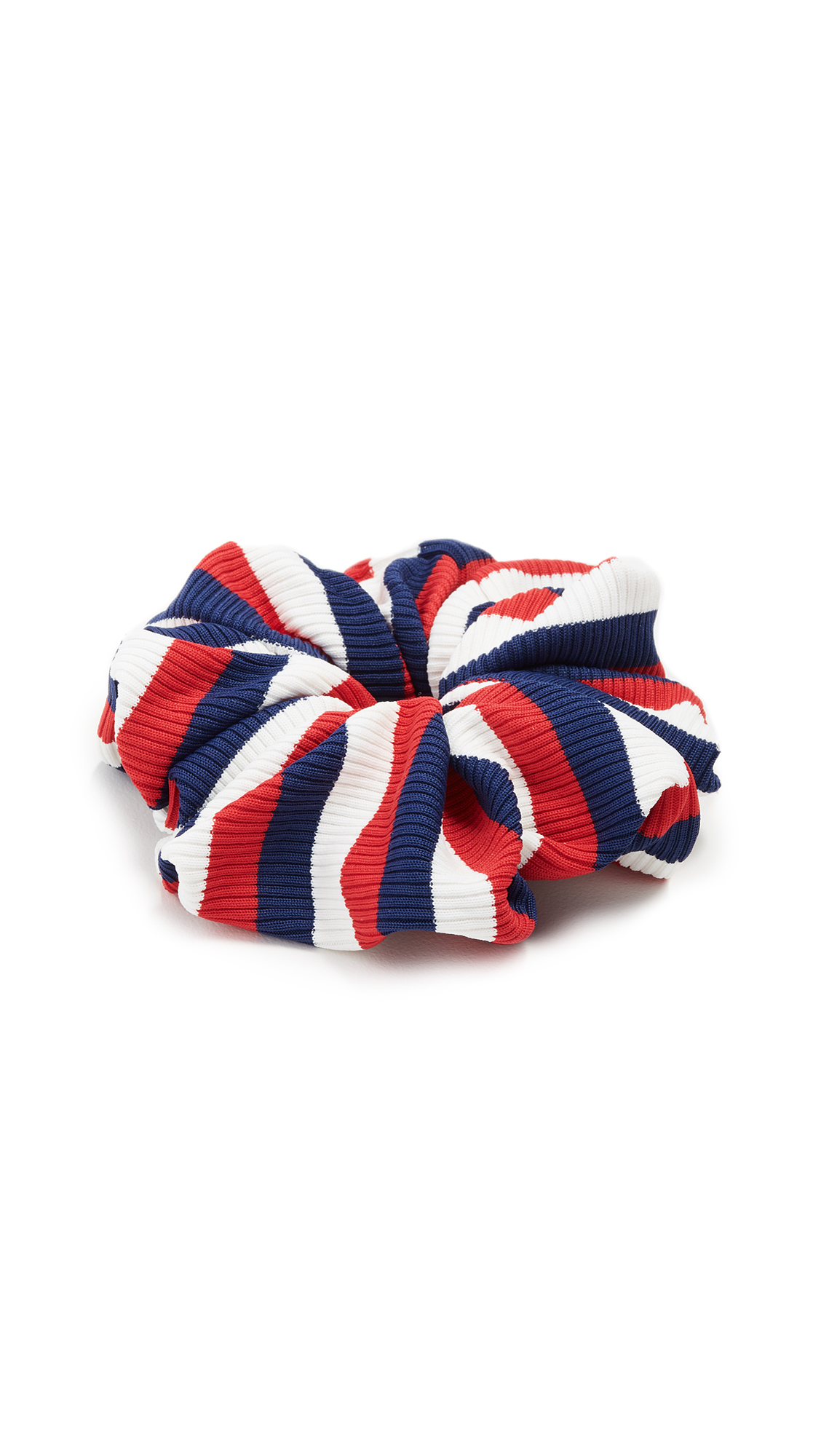 Solid & Striped The American Rib Scrunchie In Red/Blue/White