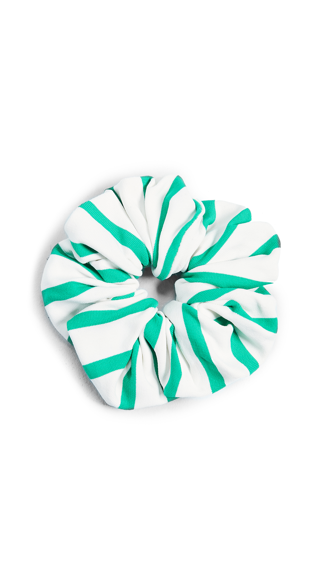 Solid & Striped The Breton Scrunchie In Green