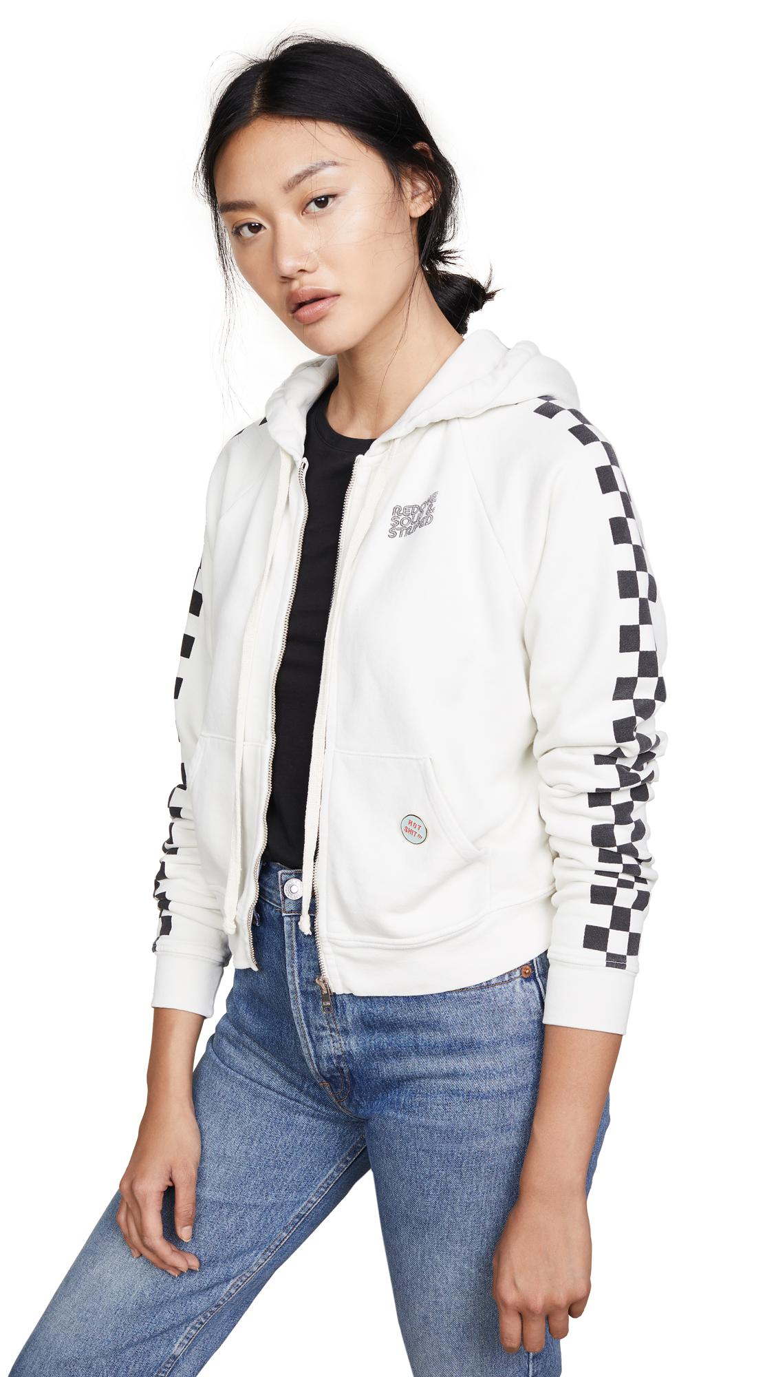 Solid & Striped x RE/DONE Malibu Sweatshirt In Dirty White