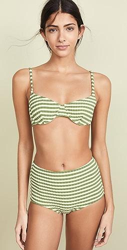 2ccaa5d0e6 Solid & Striped The Ginger Bikini Top