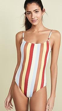 890b8b11af9 Solid   Striped. The Nina One Piece