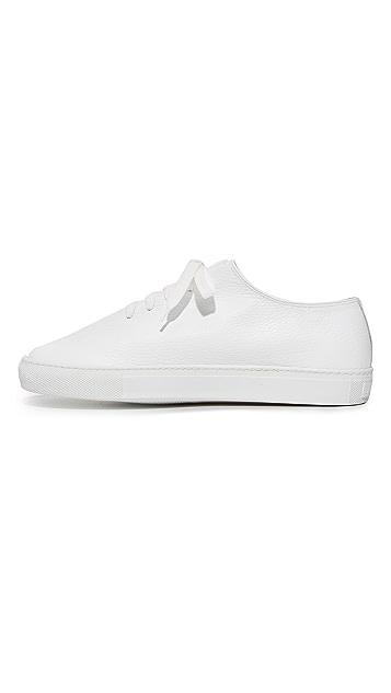 Soloviere Herve En Ville Leather Oxford Sneakers