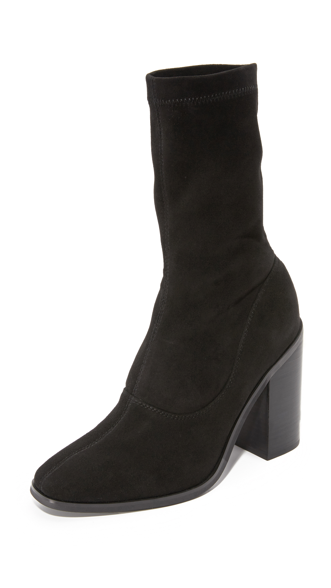 Sol Sana Chloe Stretch Booties - Black