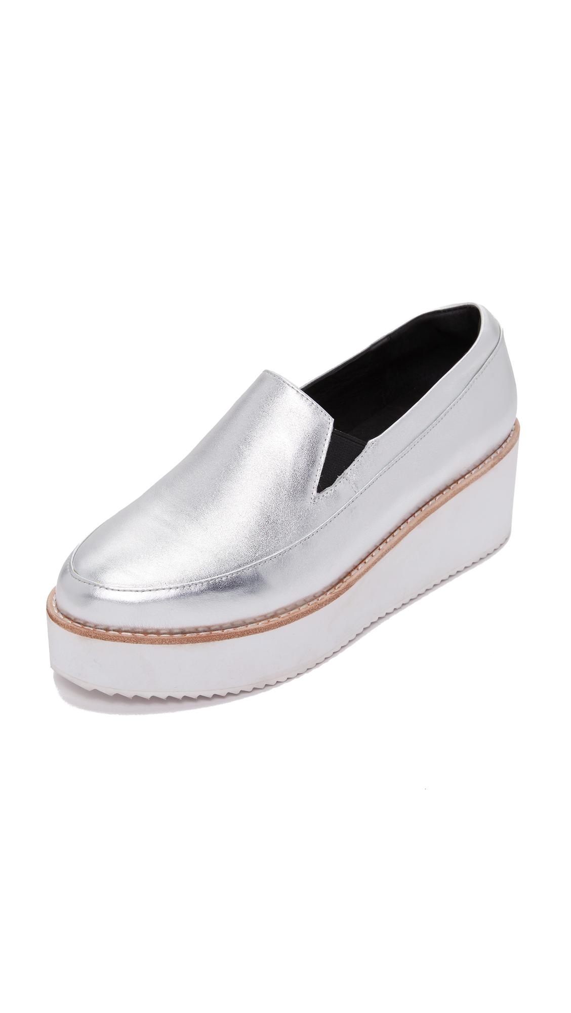 sol sana female sol sana tabbie loafers silver