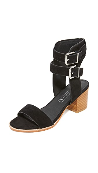 Sol Sana Porter Heel City Sandals