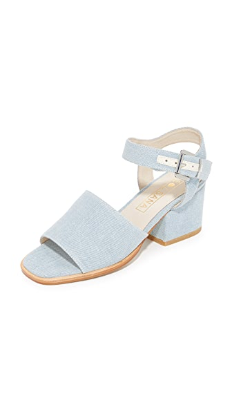 Sol Sana Kristian Heel Sandals - Light Denim