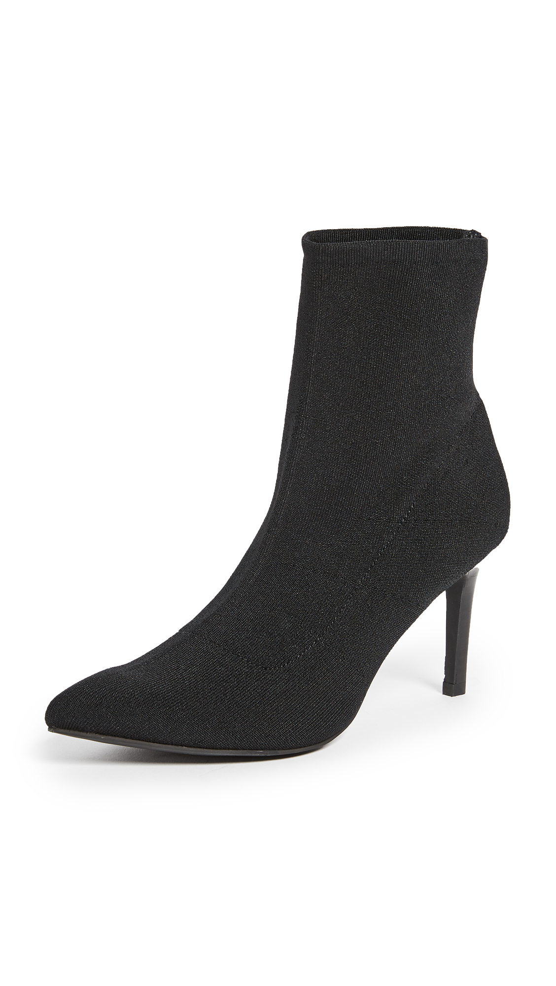 Sol Sana Ezra Booties In Black