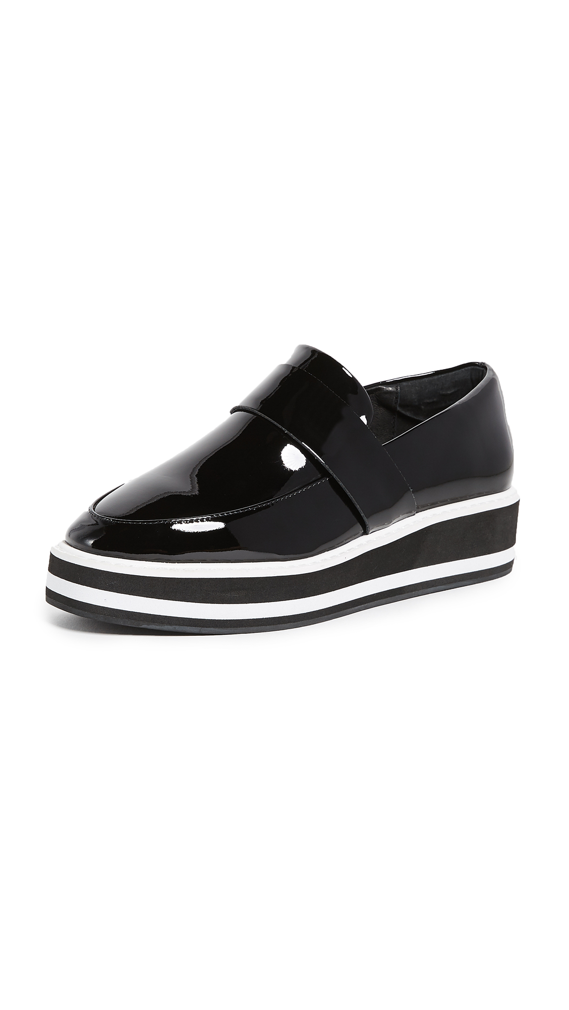 Sol Sana Venus Flatforms - Black Stripe