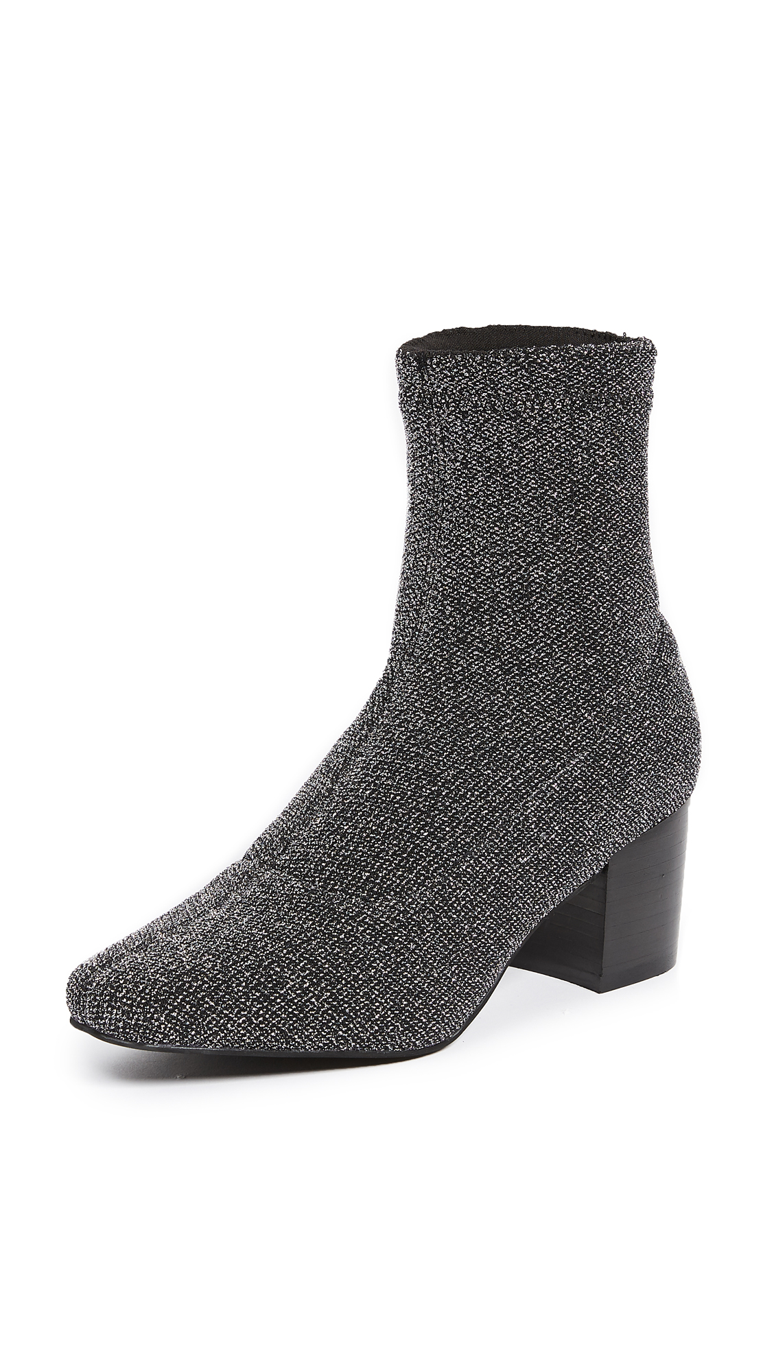 Sol Sana Comet Stretch Booties - Silver