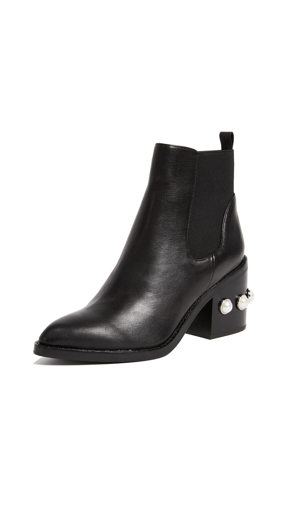 Sol Sana Victoria Ankle Boots - Black