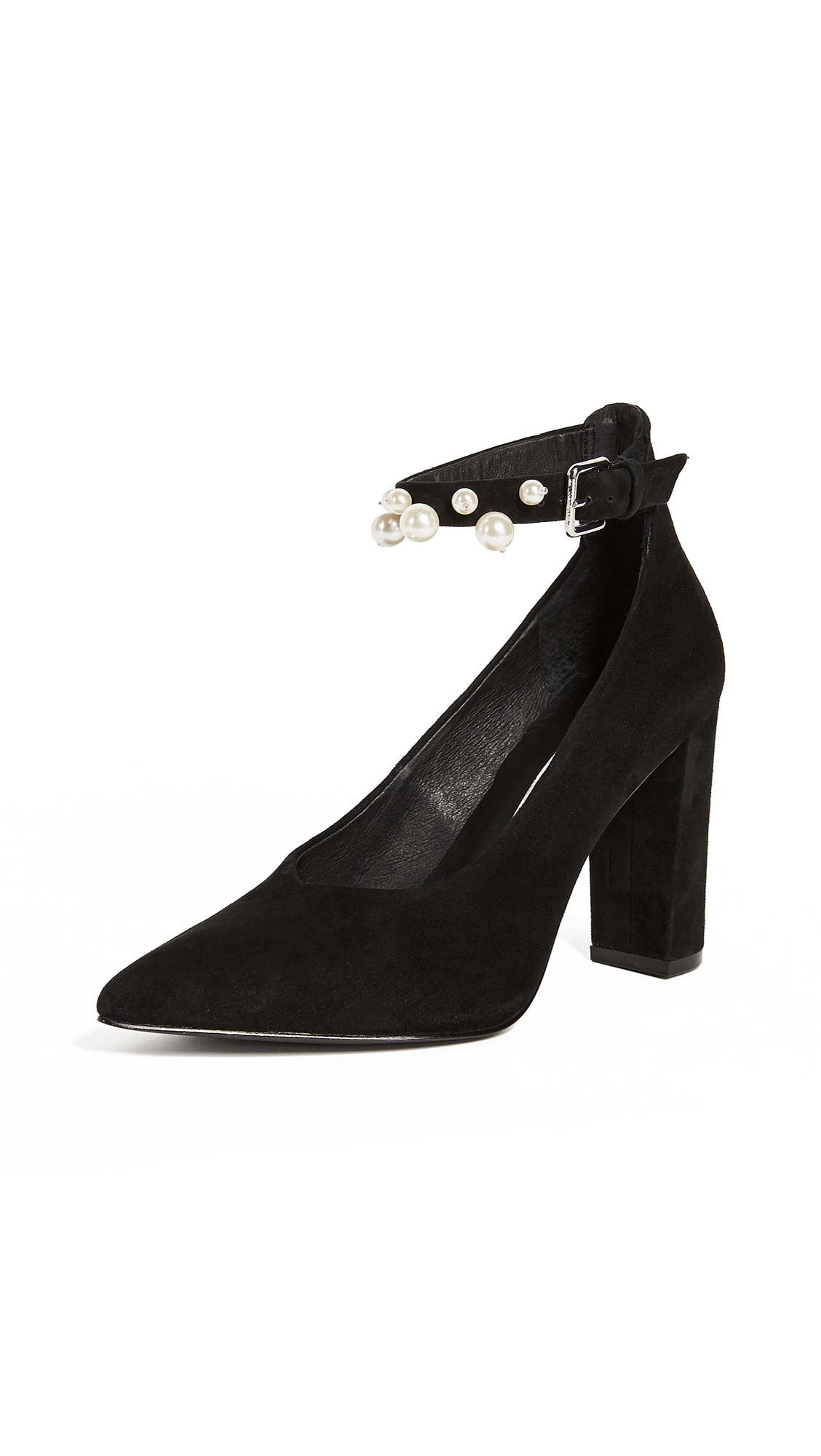 Sol Sana Isla Ankle Strap Pumps - Black