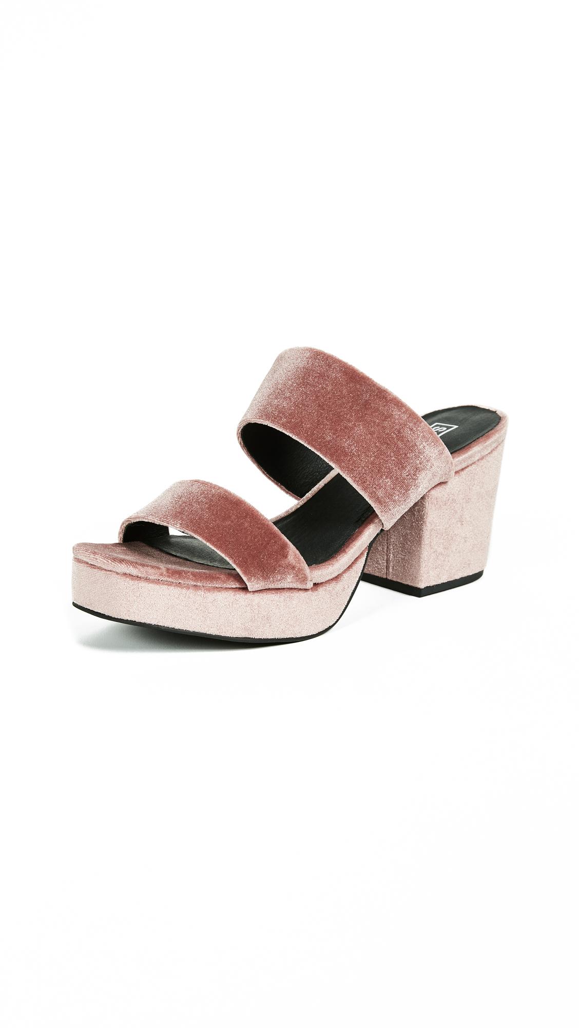 Sol Sana Tina Platform Sandals - Dusty Rose