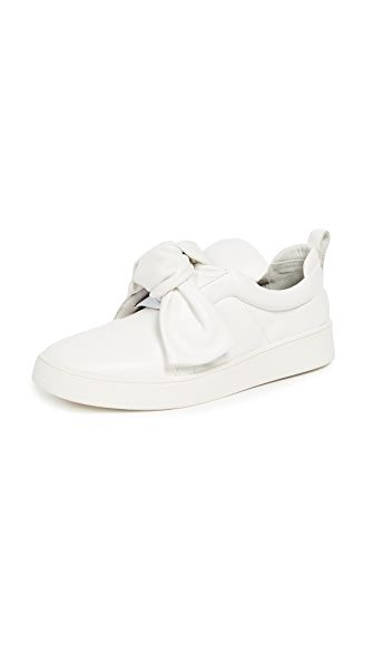 Mike Slip On Sneakers, White