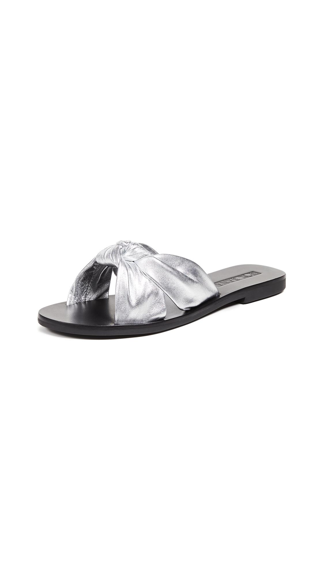 Sol Sana Paradise Slides - Silver