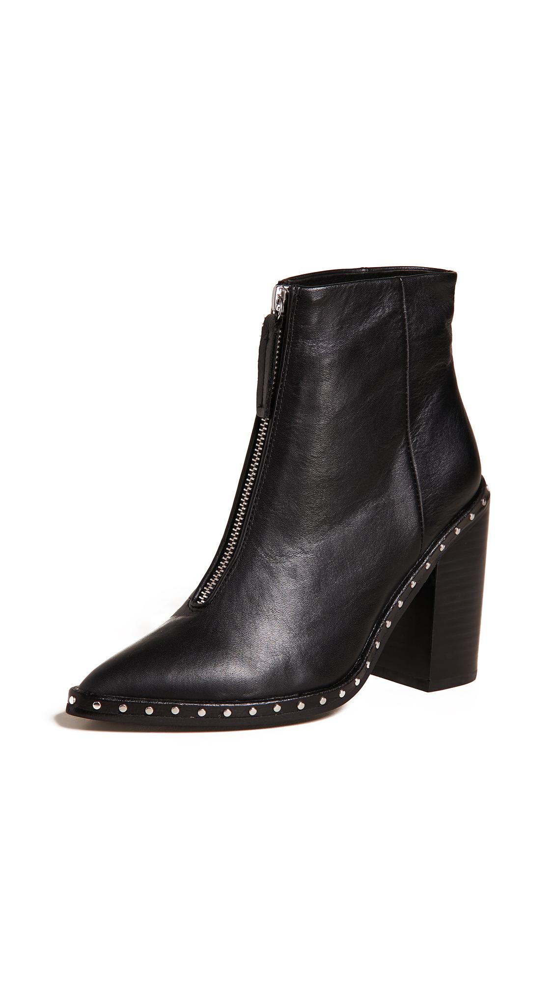 Sol Sana Axel Block Heel Boots - Black