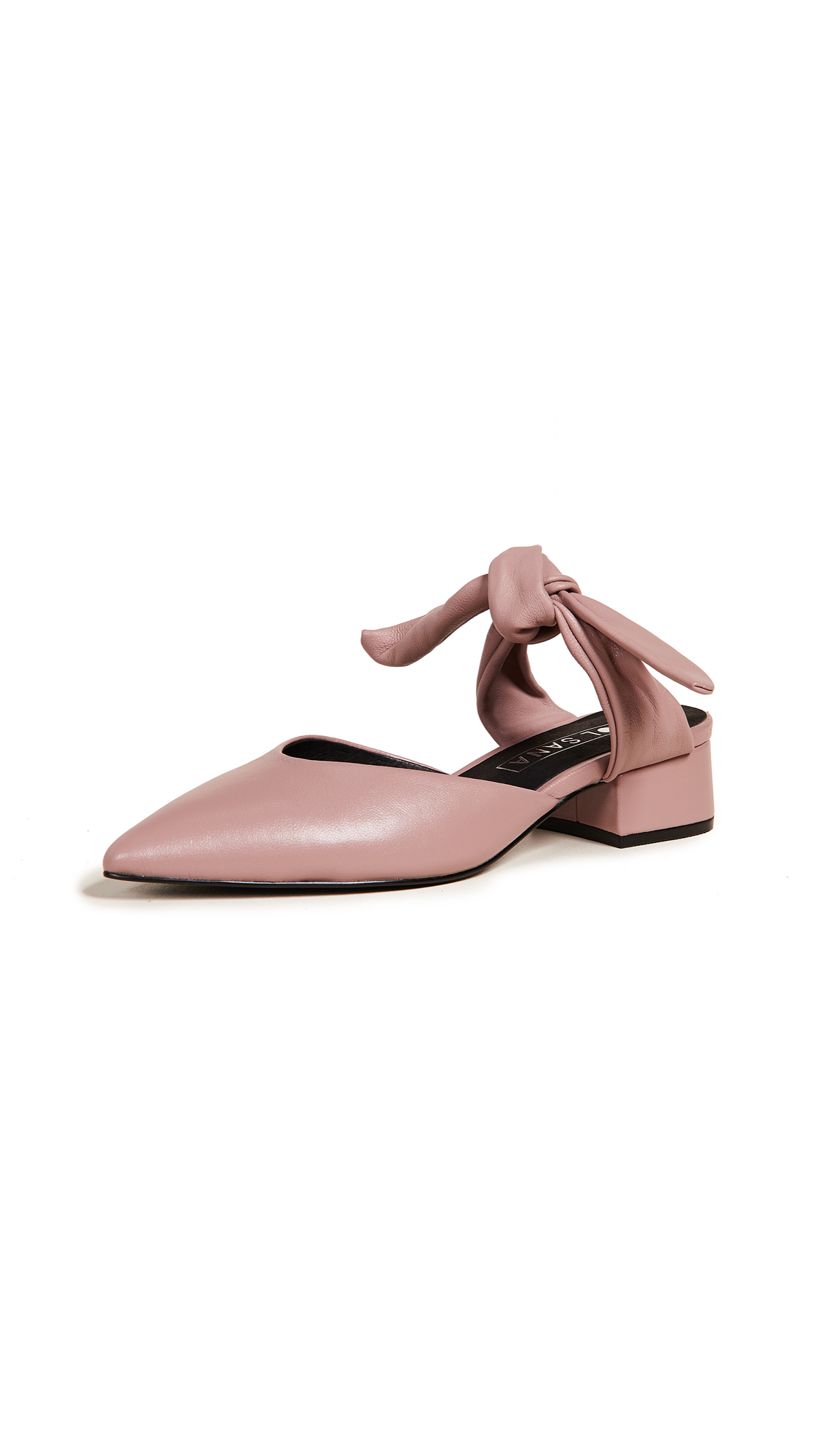 Sol Sana Arkley Kitten Heel Sandals - Dusty Rose