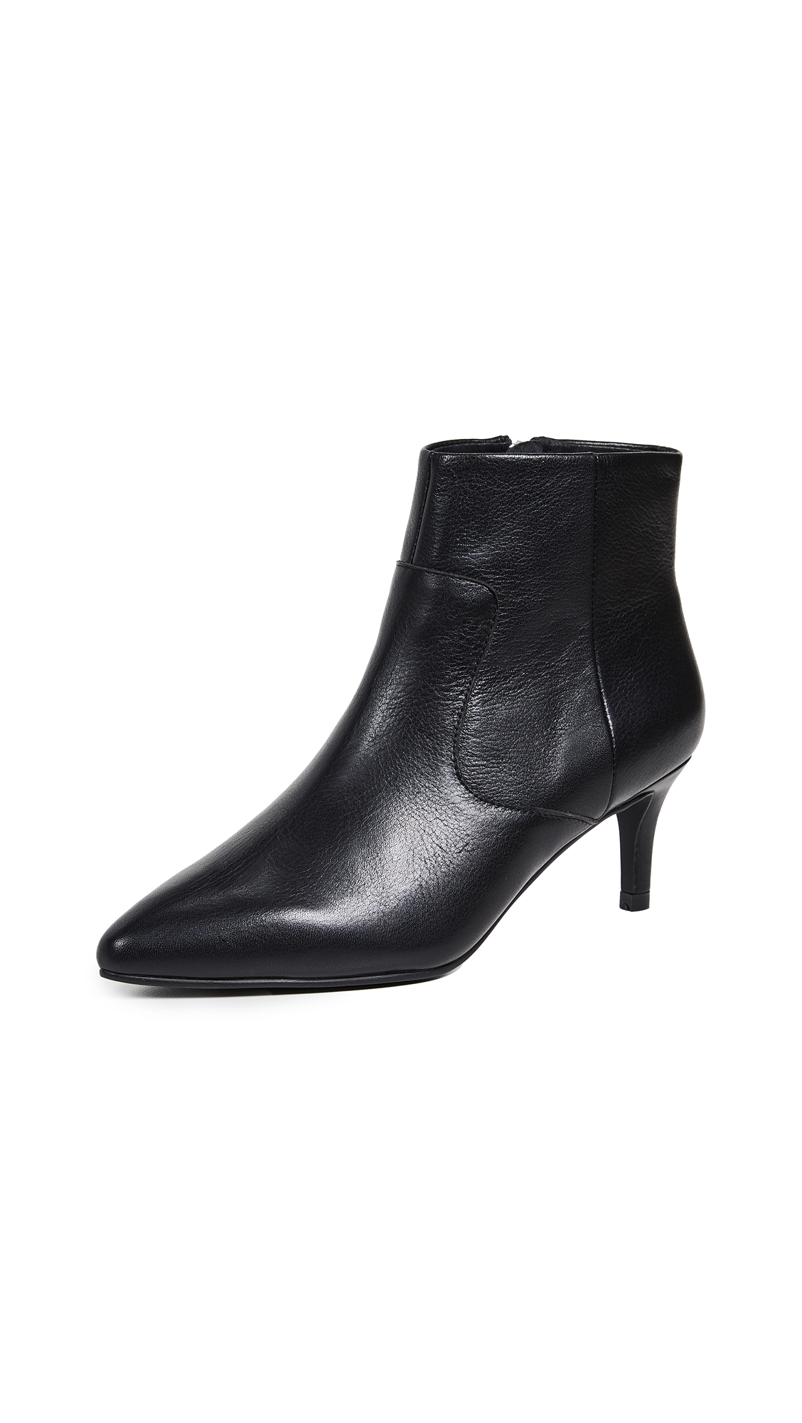 Sol Sana Odin Kitten Heel Booties - Black