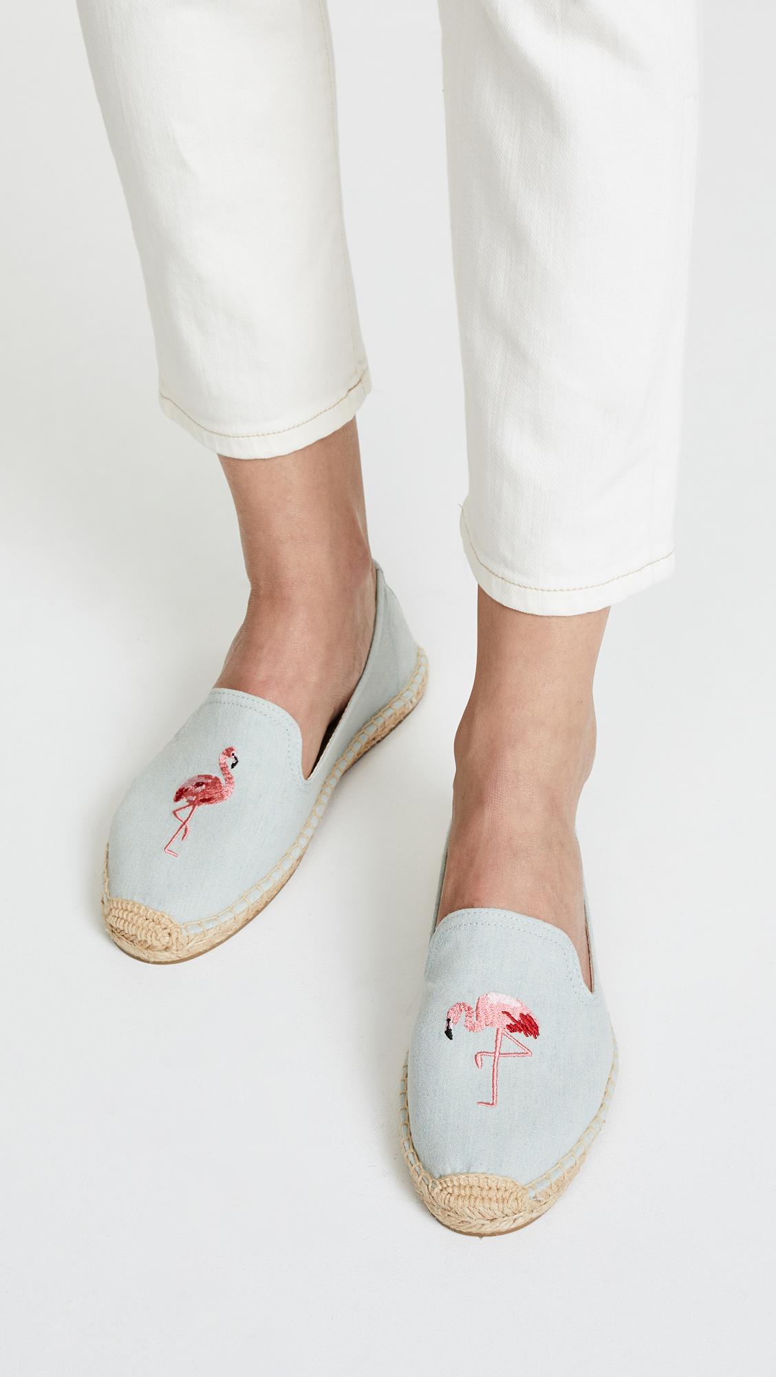 797d6bcff46 Soludos Flamingo Smoking Slipper Espadrilles | SHOPBOP