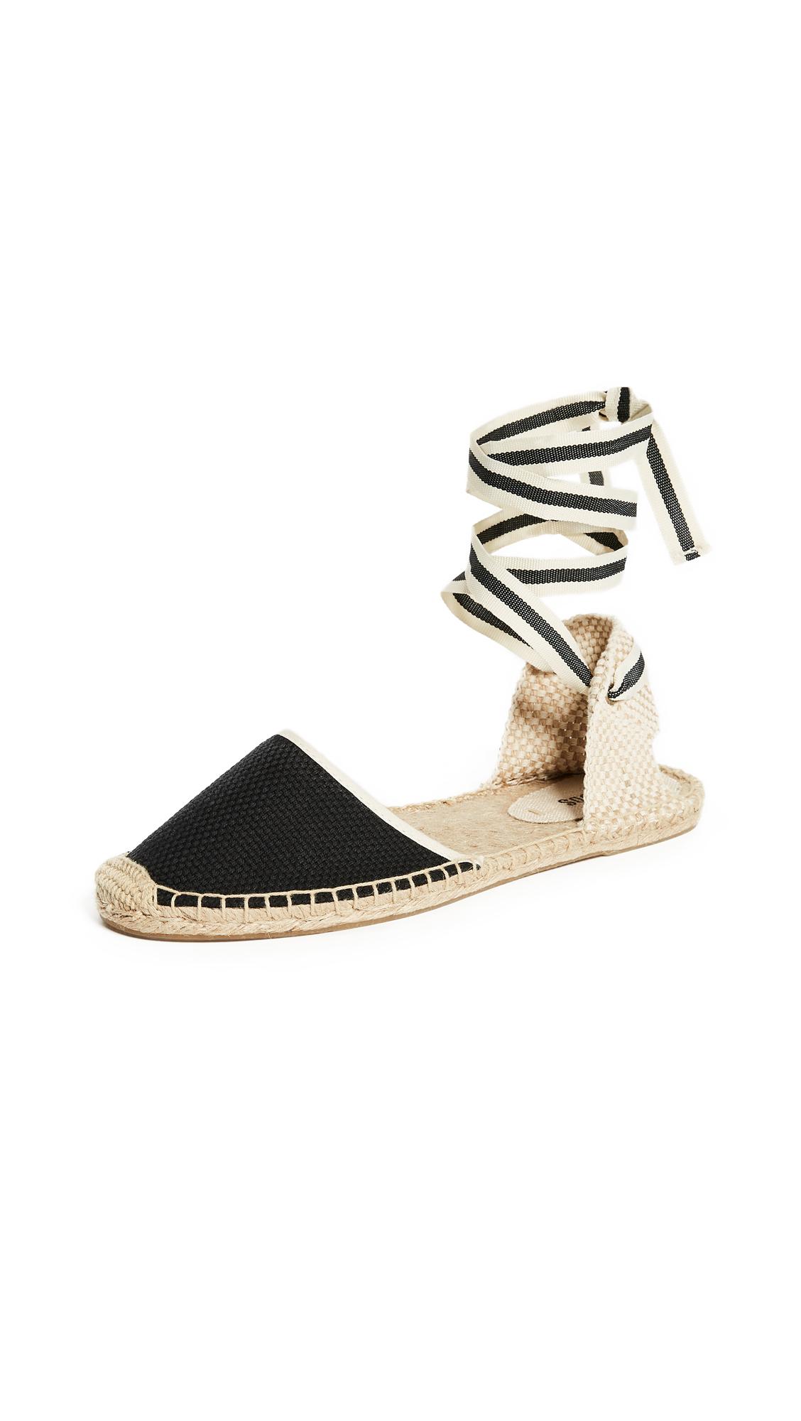 Soludos Espadrille Sandals - Black