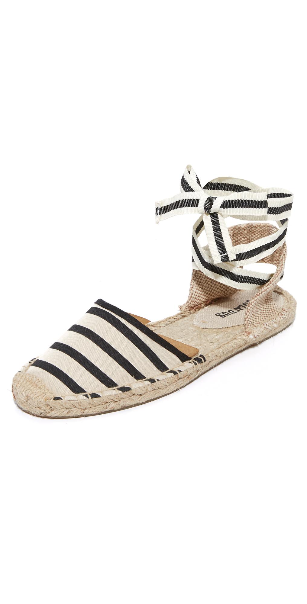 Striped Espadrille Sandals Soludos
