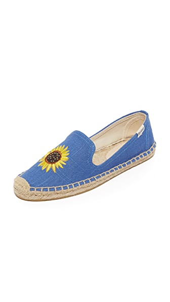 Soludos Sunflower Smoking Slipper Espadrilles