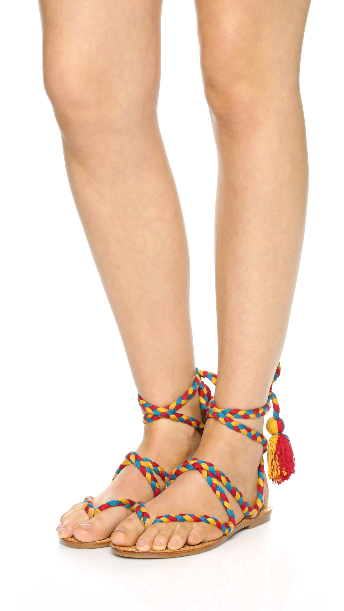 4368f0bca4d Soludos Gladiator Lace Up Sandals