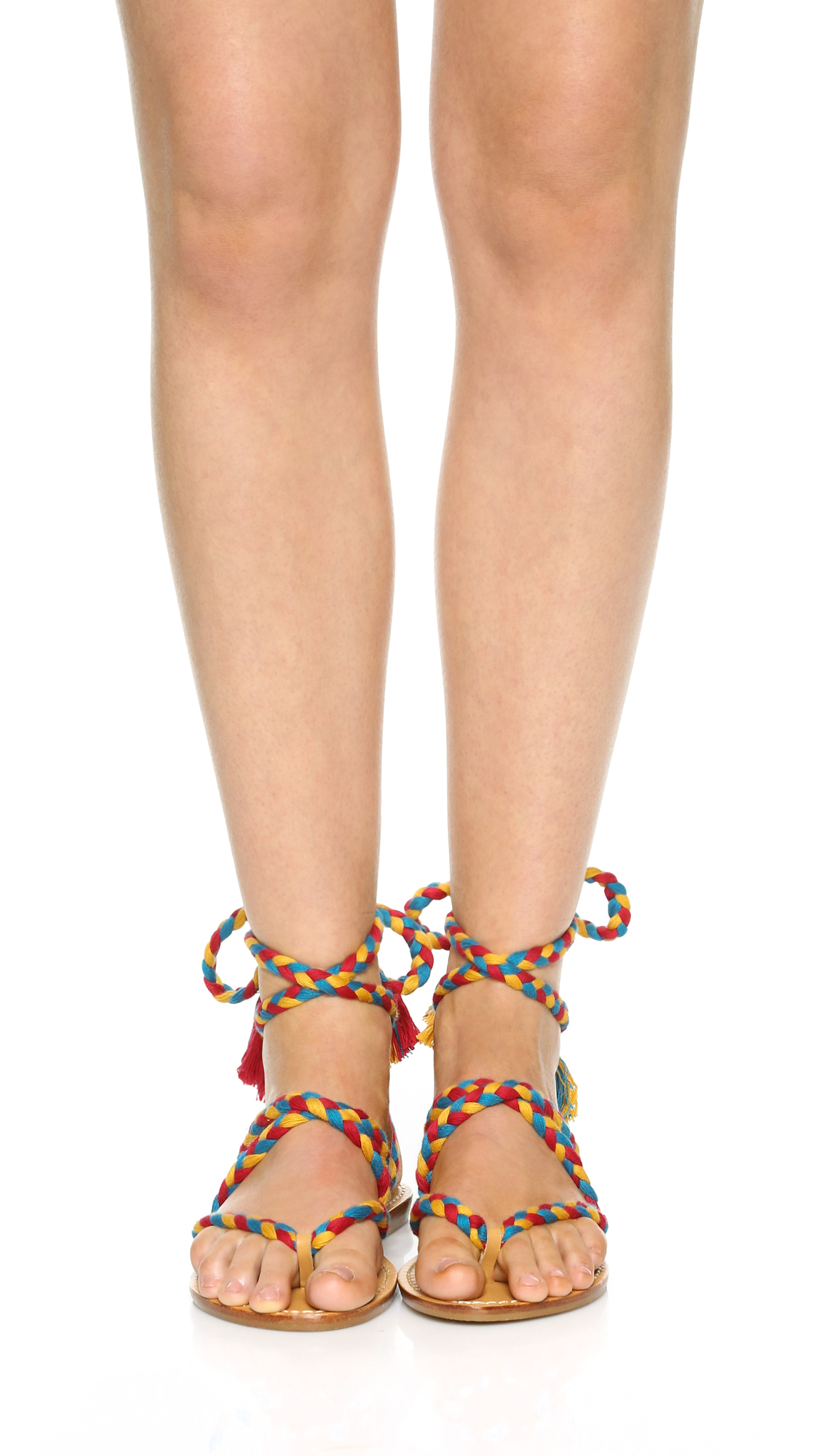 c09edbc681bd Soludos Gladiator Lace Up Sandals