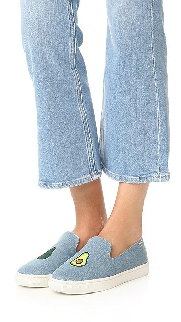 Soludos Avocado Slip On Sneakers
