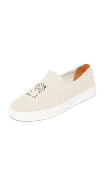 Soludos Hamburger Slip On Sneakers - Sand