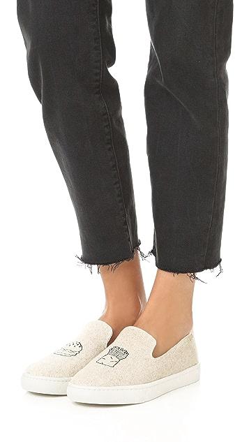 Soludos Hamburger Slip On Sneakers