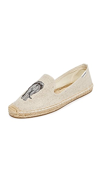Soludos Elephant Smoking Slippers - Sand