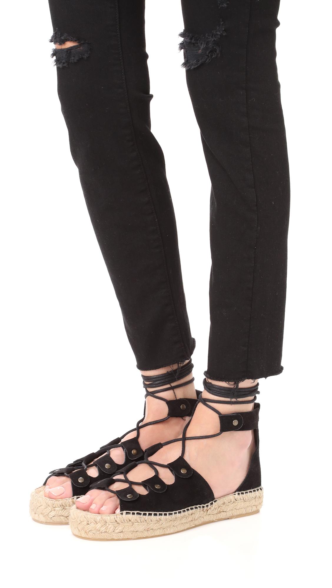 50ff947b571 Soludos Ghillie Platform Sandals